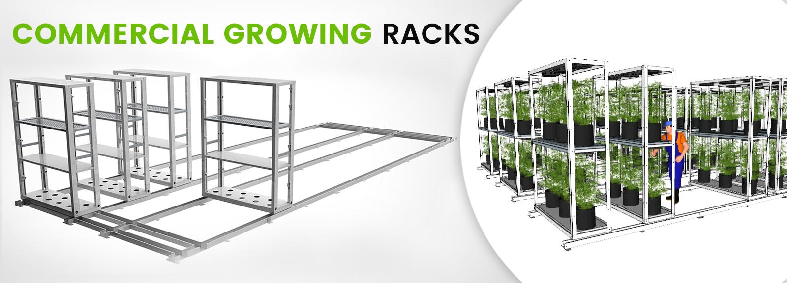 Commercial Growing Racks